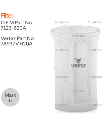 END PLATE FILTER  7123-620A,7123-620,9917890
