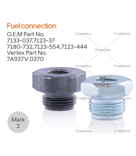 FUEL CONNECTION  7133-037,7133-37
