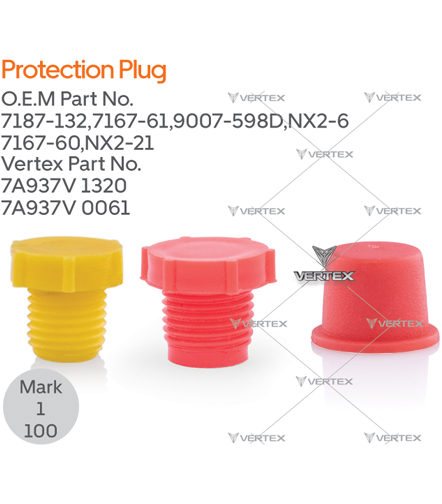PROTECTION PLUG  7187-132