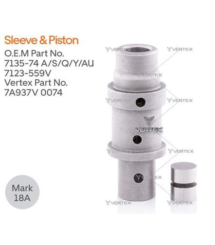 SLEEVE & PISTON 7135-74