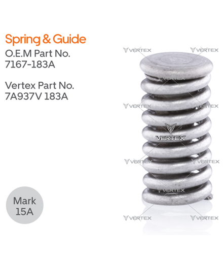 SPRING & GUIDE 7167-183A